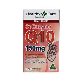 澳洲Healthy Care 辅酶Q10软胶囊心脏宝150mg100粒