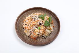 香菇鸡丝炒饭