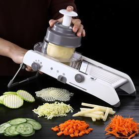 【厨房切菜神器,秒变切菜大师】多功能切菜器,3种花式可选,4挡可调,可以切20多种丝片
