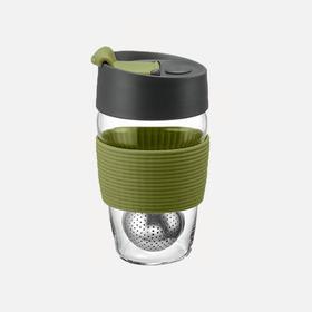 【王菲同款丹麦品牌 喝茶更怀神】PO:魔力玻璃茶杯 内置磁吸茶球