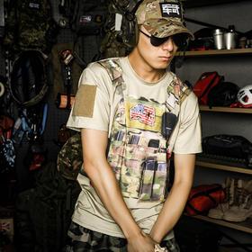 【速干3D印刷】CPC战术背心印象T恤
