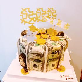 恭喜发财 抽钱蛋糕