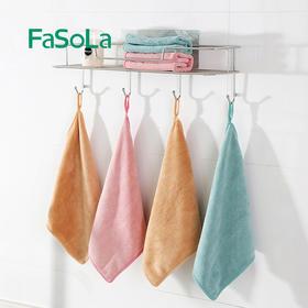 """【真正做到""""一毛不拔""""】日本Fasola洗碗布 吸水不掉毛 加厚不沾油 厨房超细纤维洗碗巾"""