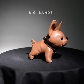 A【潮人必备】BIG BANDS斗牛犬便携式充电宝 超萌可爱 卡通玩偶 创意礼物