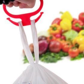 【居家】。强力提菜器 塑料提物器 省力 简易提手 家居日用小帮手