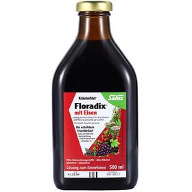 Floradix 铁元德国版500ml 红铁
