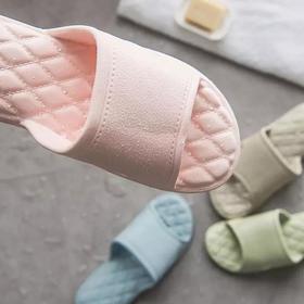 攸朴防臭防滑拖鞋|菱格设计 按摩减压气垫