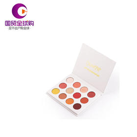 【海外直邮】Colourpop 12色眼影盘卡拉泡泡 Yes Please日落盘 she玫瑰盘pony