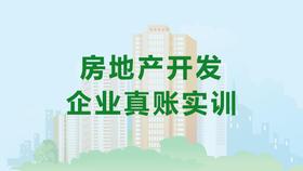 房地产开发企业真账实训