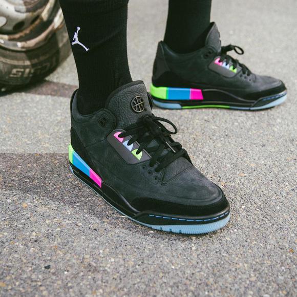 40a16196ca5c Air Jordan 3 Quai 54 AJ3 街球Q54 欧洲限定AT9195-001 - 请关注球鞋控微信