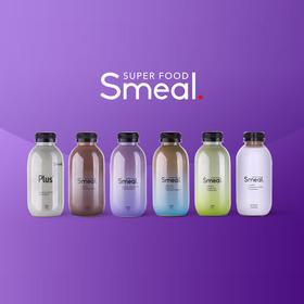 【一瓶一餐】新西兰Smeal 全营养轻体餐燃脂餐 超级食物 科学解决瘦身期间的8大难题 纯天然无添加 6种口味