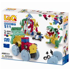 日本LaQ 动感机器人积木 650片