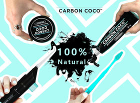 Ins爆品!澳洲Carbon Coco活性炭牙膏牙粉