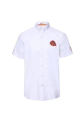 环塔纪念版短袖水洗布衬衣 越野衬衣环塔元素