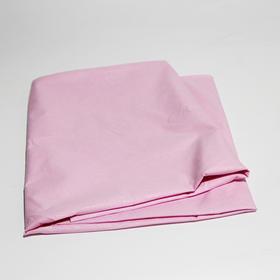 防水防油欧式花床单(粉色)