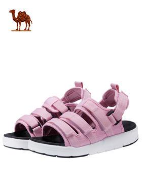 骆驼凉鞋女 沙滩鞋2018新款轻便透气漏趾休闲拖鞋 防滑运动凉鞋