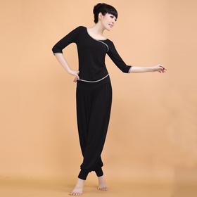 新款莫代尔灯笼裤运动瑜伽健身套装CX379