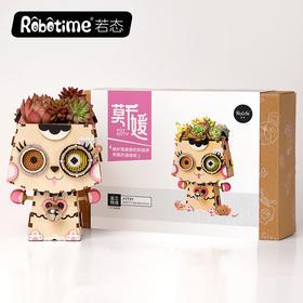若态 DIY手工创意花盆 三盒装