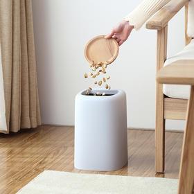 【让家拉升档次】家用无盖双层垃圾桶
