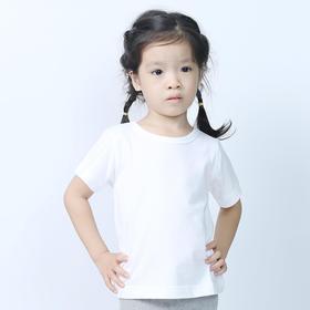 NANOJ 不会脏的白T恤  儿童款