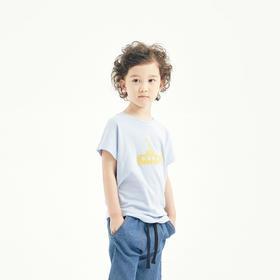 壹果Yiigoo 深海探险潜水艇有机棉短袖T恤