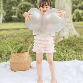 壹果Yiigoo 女童花仙子薄纱蛋糕短裤