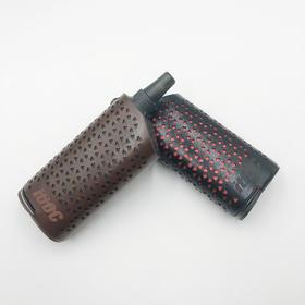 IUOC爱优士官方订制超纤皮镂空电子吸烟器IQos隔热保护套潮商务