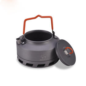 步林户外茶壶野营烧水壶泡茶用具野外节能聚热咖啡壶热卖