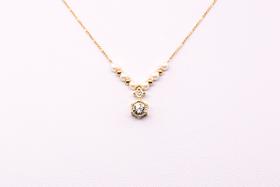 大钻串珠项链n0025-gd(不支持线下自提)