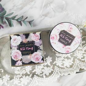 泰国NATING娜婷散粉 三色定妆控油定妆散粉蜜粉 粉质细腻不卡粉