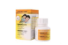 挪威Lifeline Care Immuno Child 儿童免疫力营养素咀嚼片