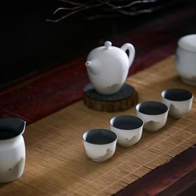 陶溪川 功夫茶具茶杯套装家用简约现代创意客厅4人中式复古整套小