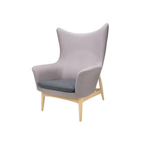 MatzForm Benedict 白橡木高背休闲椅