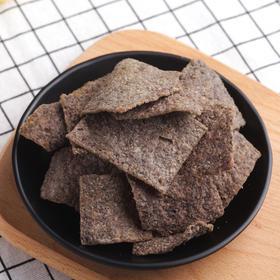 帮卖精选   一种牵肠挂肚的味道,手工老灶黑米锅巴 208g/袋*2,非一般的酥脆