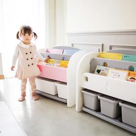 韩国IFAM儿童书架迷你多功能收纳柜