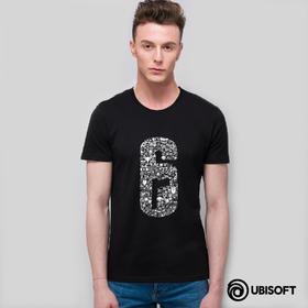育碧精选《彩虹六号:围攻》短袖T恤