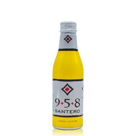 意大利原装进口起泡葡萄酒 圣丹露(SANTERO)小铝罐958白起泡葡萄酒气泡酒250ml