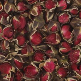 玫瑰花茶 金边玫瑰花茶云南野生新鲜无硫干玫瑰散装特级花蕾 精装30g-820021