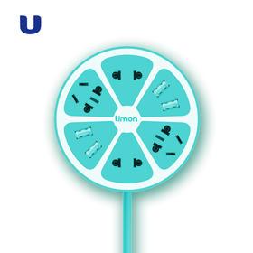 半岛优品 | 创意插线板4座智能柠檬插座USB充电器