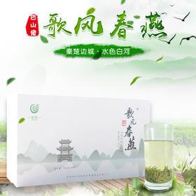 2019年新茶陕西特产安康富硒绿茶白河歌风春燕御品礼盒装150g