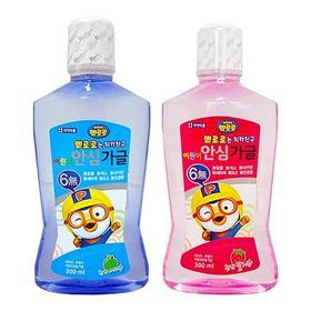 【新品推荐】pororo啵乐乐儿童用漱口水 清新口气 预防蛀牙 水果味