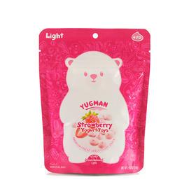 优格曼冻干草莓酸奶清淳溶豆  14g