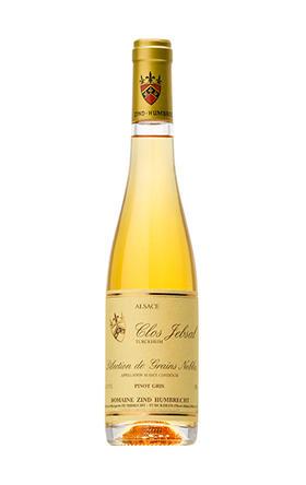珍欢庄园贝萨园灰皮诺甜白葡萄酒2016_375ml/Domaine Zind Humbrecht Pinot Gris Clos Jebsal Selection de Grains Nobles