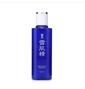 日本雪肌精水乳护肤套装