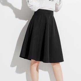 2018夏新款韩版高腰修身显瘦百搭A字半身裙BZ88270