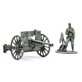 【二营长的意大利炮】法制1897式75mm炮模型