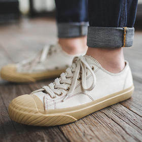 【英军训练鞋原型】日本冈山复古纯手工硫化鞋