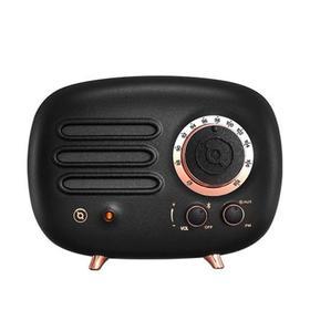 猫王收音机FY101BK猫王radiooo无线蓝牙音箱音响复古收音机便携式低音炮创意小音响蓝牙播放器家用户外