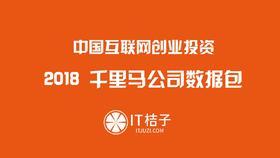 2018中国千里马公司数据包 02估值信息包