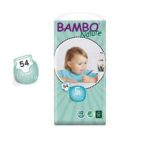 Bambo自然系列婴儿纸尿裤5号大包12-22kg